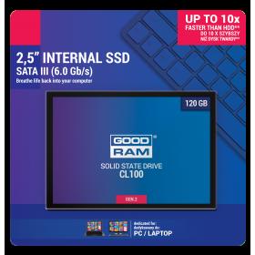 DYSK SSD GOODRAM CL100 G2 120GB SATA3