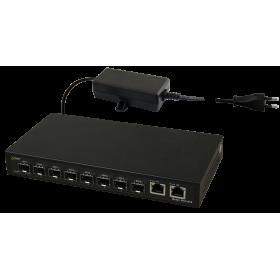Switch optyczny SFG10F8 (8xSFP, 2xRJ45)