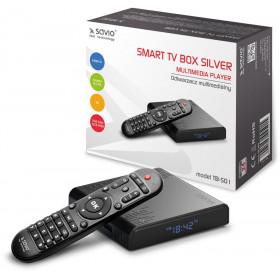 Savio Smart TV Box Silver TB-S01 2/16 GB