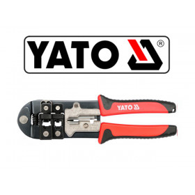Zaciskacz wtyków RJ45, RJ11, RJ12 YATO YT-22422