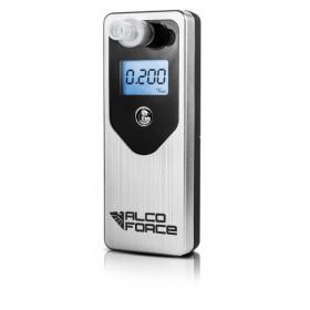 ALKOMAT AlcoForce EVO + kalibracja 12mc +10 ustników srebrny
