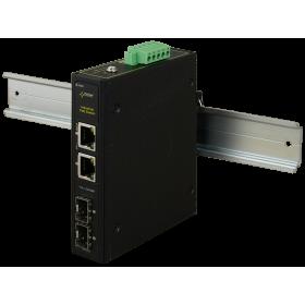 Switch przemysłowy ISFG42 (2xPoE, 2xSFP)