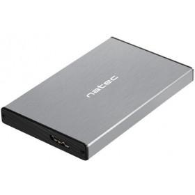 """OBUDOWA DYSKU ZEWNĘTRZNA NATEC RHINO GO SATA 2.5"""" USB 3.0 SZARA"""