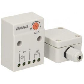 Czujnik zmierzchowy ORNO z hermetyczną zwe. sondą w puszce OR-CR-232