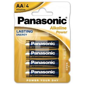 BATERIA PANASONIC LR6/4BP (AA) ALKALINE