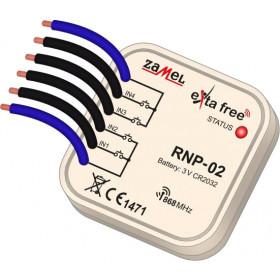 Radiowy nadajnik dopuszkowy 4-kan. EXTA FREE RNP-02