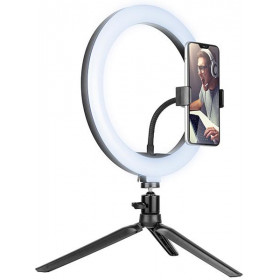 Lampa pierścieniowa RING 26cm TRACER z mini statywem