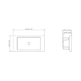 Moduł czytnika zbliżeniowego MIFARE DAHUA VTO4202F-MR