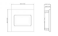 Moduł czytnika zbliżeniowego MIFARE DAHUA VTO4202F-MS
