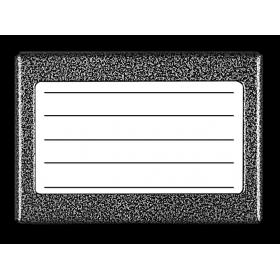 ACO CDN-5N GR PODŚWIETLANY PANEL LISTY LOKATORÓW (ok.5 wpisów)