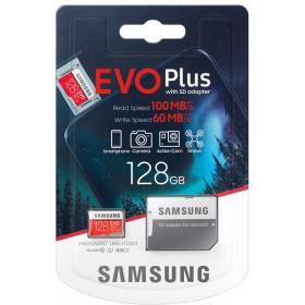 Karta pamięci Samsung EVO+ Plus MB-MC128HA 128 GB + Adapter