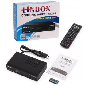 Tuner DVB-T2 Linbox Avira HDTR 875 H.265
