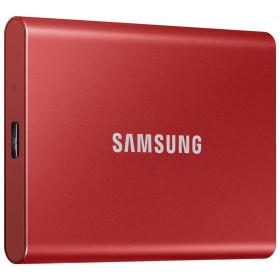 Dysk zewnętrzny SSD Samsung Portable T7 1TB USB 3.2 Czerwony