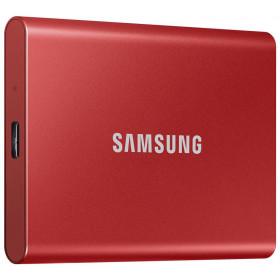 Dysk zewnętrzny SSD Samsung Portable T7 500GB USB 3.2 Czerwony
