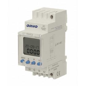 Programator elektroniczny ORNO na szynę DIN OR-PRE-433