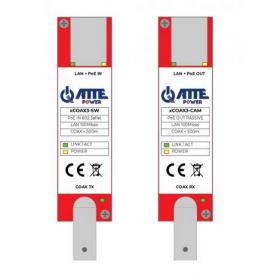 Zestaw aktywnych konwerterów do transmisji Ethernet oraz PoE xCOAX3-SET