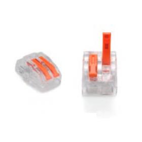 ZŁĄCZKA DO PRZEWODÓW ZATRZASKOWA 0,2-4,0mm2 PC232 2GNIAZDA 1szt.