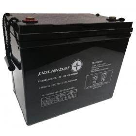 Akumulator PowerBat CBE 12V 75Ah Deep Cycle Gel
