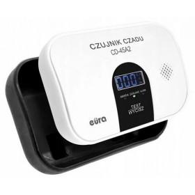 Czujnik czadu EURA CD-45A2 wolnostojący, bateryjny, wyswietlacz LCD