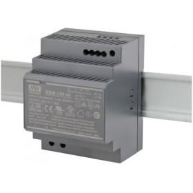 ZASILACZ MEAN WELL HDR-100-48 NA SZYNĘ DIN 48V/100W/1.92A