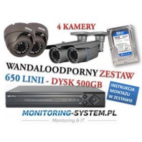 Zestaw Monitoringu 650 - 4...