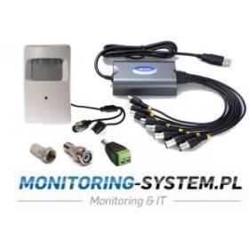 Monitoring ukryty - kamera...