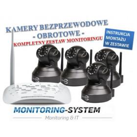 Zestaw monitoring 4 kamery...