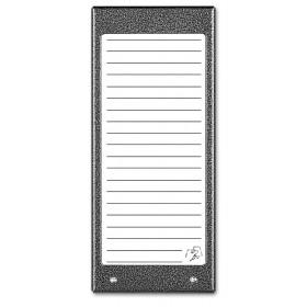ACO CDN-17NACC ST Podświetlany panel listy lokatorów (ok. 17 wpisów)