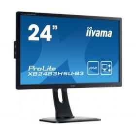"""Monitor LED IIYAMA XB2483HSU-b3 24"""" HDMI DisplayPort HAS Pivot"""