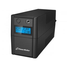 UPS ZASILACZ AWARYJNY POWER WALKER VI 850 SHL LCD